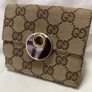 Gucci - グッチ GUCCI 二つ折り 財布 エクリプス