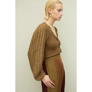 BEAUTY&YOUTH UNITED ARROWS - leinwande Branch Knit