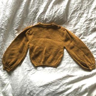 キャラメルベビー&チャイルド(Caramel baby&child )のsoor ploom Agnes Sweater Strawflower(ニット)
