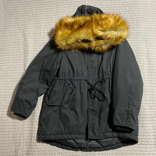 マウジー(moussy)のmoussy / BIG HOODIE WARM コート(モッズコート)