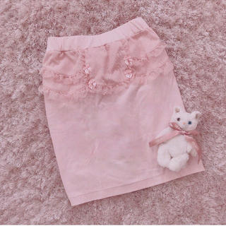 Katie - 本日限定 レア baby pink skirt