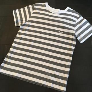 マーガレットハウエル(MARGARET HOWELL)のクロにゃんさま専用 MHL.ボーダーTシャツ&シュープリームララ刺繍ブラウス(Tシャツ/カットソー(半袖/袖なし))