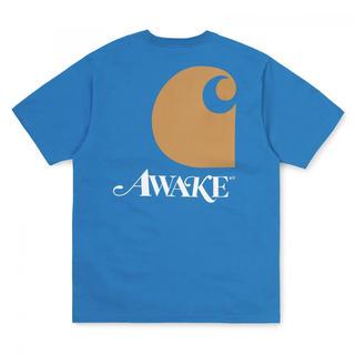 アウェイク(AWAKE)のAwake x Carhartt WIP T-Shirt Blue(Tシャツ/カットソー(半袖/袖なし))