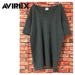 アヴィレックス(AVIREX)のAVIREX MINI WAFFLE Tシャツ ダークグレー(Tシャツ/カットソー(半袖/袖なし))