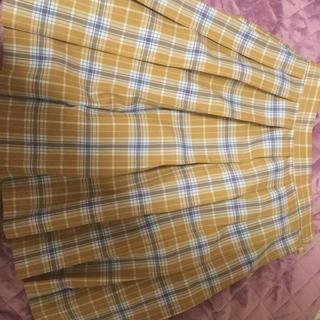 品川女子学院夏服スカート