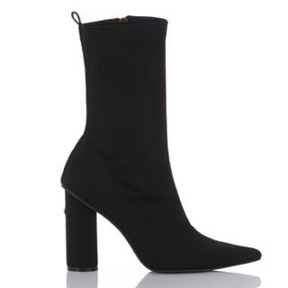 イエローブーツ(Yellow boots)のTOKYO BLACK SHORT 2018  S  22.5 23(ブーツ)