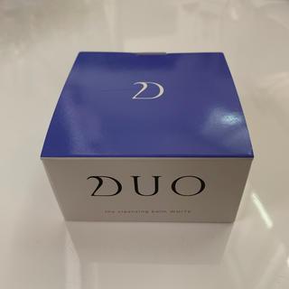 【未開封】DUO(デュオ) ザ クレンジングバーム ホワイト(90g)(クレンジング/メイク落とし)