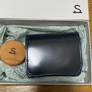 【未使用】ワイルドスワンズ wildswans コードバン パーム ミニ財布