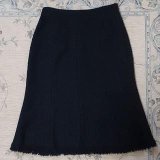 ロペ(ROPE)のROPE 黒のスカート(ひざ丈スカート)