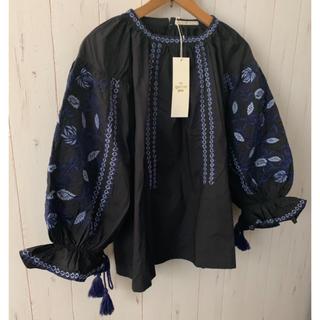 BEAUTY&YOUTH UNITED ARROWS - 新品★ne Quittez pas (ヌキテパ) コットンボイル刺繍ブラウス