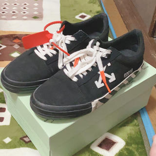 OFF-WHITE - off-white 19ss arrow logo vulc sneakers
