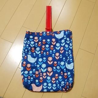 手作り靴袋 幼稚園 保育園(シューズバッグ)
