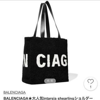 バレンシアガバッグ(BALENCIAGA BAG)のバレンシアガ ムートンバッグ(トートバッグ)
