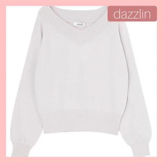 ダズリン(dazzlin)のダズリン ベーシックVネックニット(ニット/セーター)