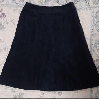 アリスバーリー(Aylesbury)のアリスバーリー スエード調黒のスカート(ひざ丈スカート)