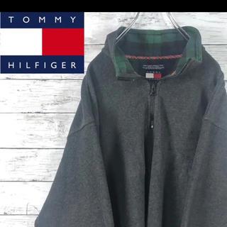 トミーヒルフィガー(TOMMY HILFIGER)の古着 90s Tommy Hilfiger フリース 襟チェック 旧タグ(その他)