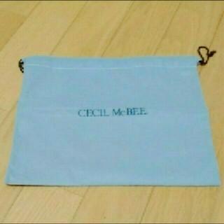 セシルマクビー(CECIL McBEE)のCECIL Mc BEE 巾着(ショップ袋)