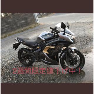 カワサキ(カワサキ)のNINJA400  2017モデル  ブラック/ゴールド(車体)