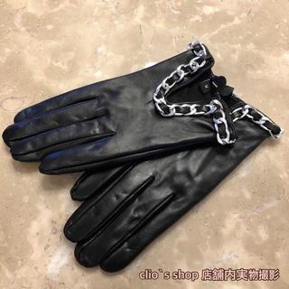 Cマーク レザー手袋 M(B級品)