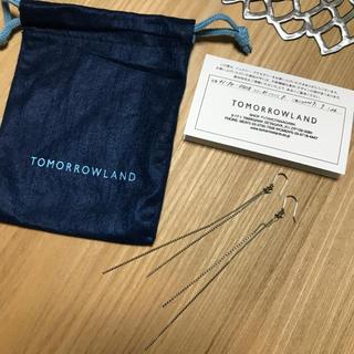 TOMORROWLAND - 未使用 ロングピアス