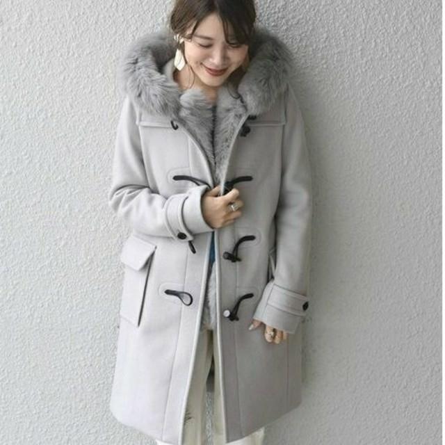 SHIPS(シップス)のSHIPS☆新品ダッフルコート レディースのジャケット/アウター(ダッフルコート)の商品写真