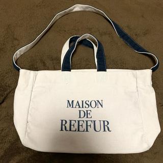 メゾンドリーファー(Maison de Reefur)のメゾンドリーファー 肩がけトートバッグ 【ホームクリーニング済み】(トートバッグ)