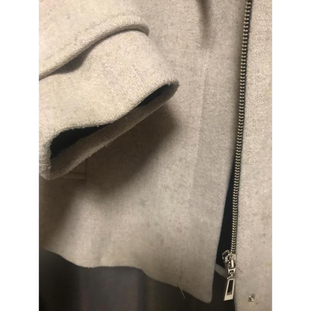 ZARA(ザラ)の3500→2200 ZARA ダッフルハーフコート レディースのジャケット/アウター(ダッフルコート)の商品写真