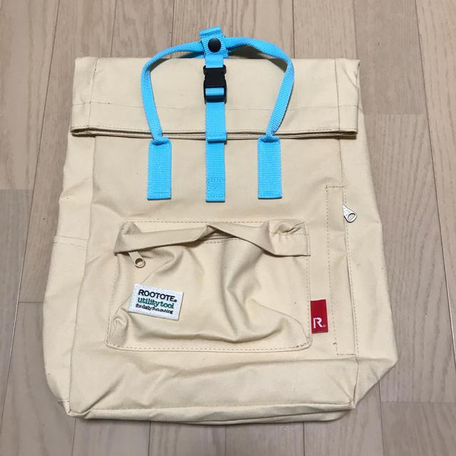 サントリー(サントリー)のクラフトボス×ROOTOTE オリジナル軽やか2wayリュック ミルク レディースのバッグ(リュック/バックパック)の商品写真