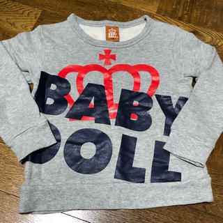BABYDOLL - BABY DOLL  ベビードール ロンT 110