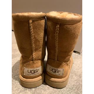 アグ(UGG)の美品 UGGムートンブーツ(ブーツ)