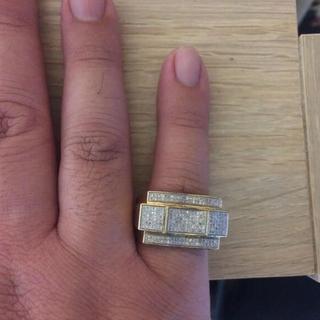 AVALANCHE - AVALANCHE 10K ダイヤモンド リング ice  jewelry