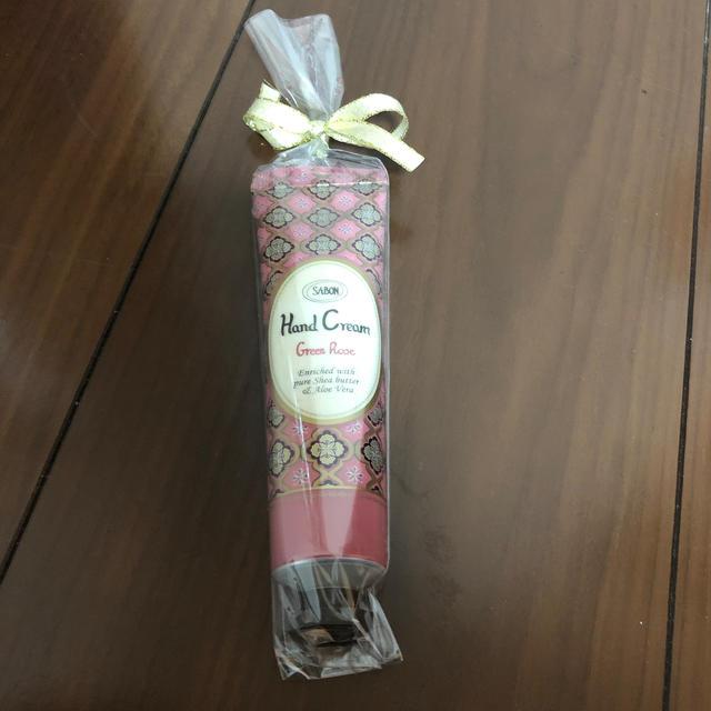 SABON(サボン)のsabon ハンドクリーム グリーンローズ コスメ/美容のボディケア(ハンドクリーム)の商品写真