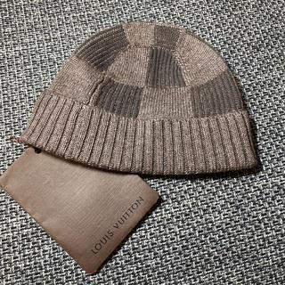 ルイヴィトン(LOUIS VUITTON)の新品 未使用 ☆LOUIS VUITTON☆ベビーキッズ ニット帽子(帽子)