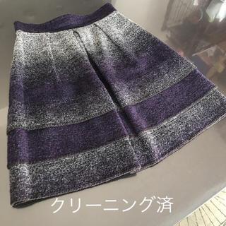 UNTITLED - ❁UNTITLED スカート(美品)❁INDIVI クードシャンス