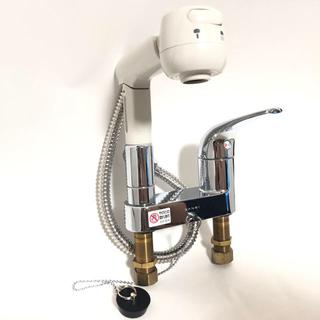 リリ様専用 三栄水栓 洗髪用シングルスプレー混合栓  K37100VR-13(その他)