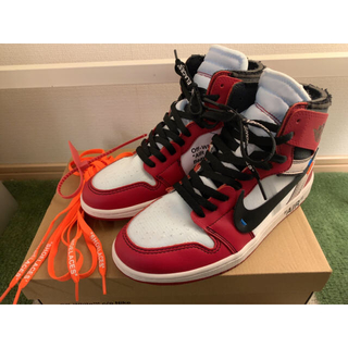 OFF-WHITE - Nike Air Jordan 1 off white Chicago 27