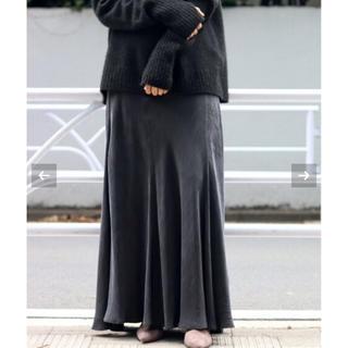 Plage - 完売サイズ38  plage ギャザーロングスカート ブラック