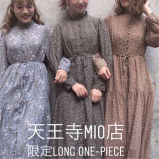 one after another NICE CLAUP - 【新品タグ付き】大阪天王寺MIO限定 ワンピース ナイスクラップ