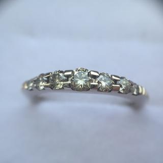 カシケイ 0.40ctブラウンダイヤモンドリング(リング(指輪))