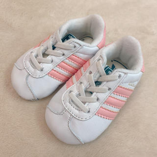 アディダス(adidas)の新品未使用 アディダス ファーストシューズ スニーカー 靴 ベビー(スニーカー)