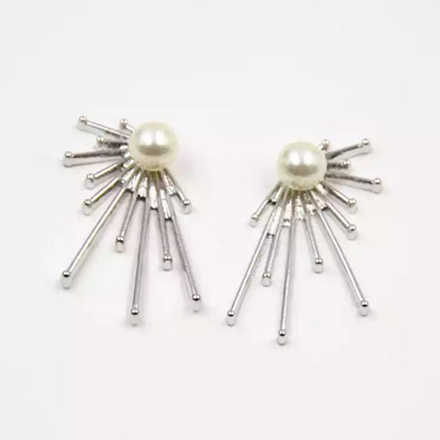 nano・universe(ナノユニバース)のSun pearl silver pierce No.284 レディースのアクセサリー(ピアス)の商品写真