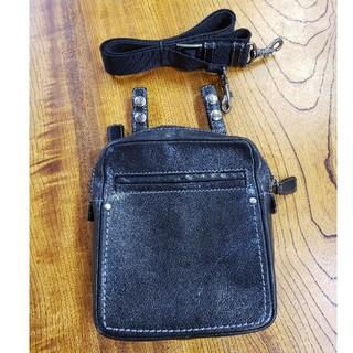 ツチヤカバンセイゾウジョ(土屋鞄製造所)の土屋鞄 セッション2way ブラック ポシェット ショルダーバッグ ヒップバッグ(ショルダーバッグ)