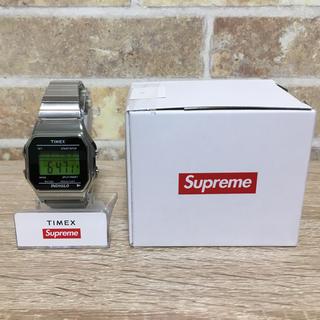 supreme timex デジタルウォッチ シルバー