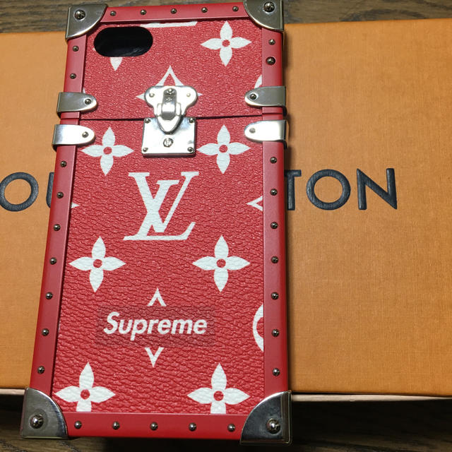 100 均 iphonex ケース | LOUIS VUITTON - ルイヴィトン シュプリーム携帯ケースの通販 by 葉亞都(ハート)ショップ|ルイヴィトンならラクマ