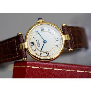 Cartier - 美品 カルティエ マスト ヴァンドーム ゴールドリング ローマン SM
