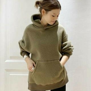 DEUXIEME CLASSE - 新品タグ付 ドゥーズィエムクラス military pile hoodie