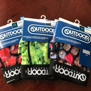アウトドアプロダクツ(OUTDOOR PRODUCTS)の新品 OUTDOOR ボクサーパンツ Mサイズ 3枚セット(ボクサーパンツ)