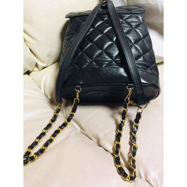 ココマーク  ラムスキン   リュック バッグ 送料込み レディースのバッグ(リュック/バックパック)の商品写真