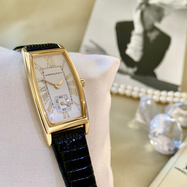 スーパーコピー 時計 ロレックス オメガ | Hamilton - 美品✨電池・ベルト交換クリーニング済み ハミルトン レディース 時計 カーライルの通販
