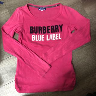 バーバリーブルーレーベル(BURBERRY BLUE LABEL)のバーバリーブルーレーベル☆カットソー☆(カットソー(長袖/七分))